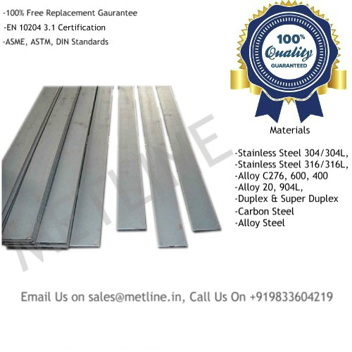 Metal Flat Bars & Flat Manufacturers, Suppliers, Factory