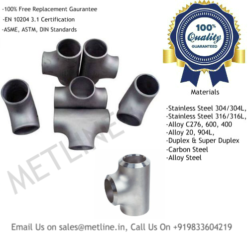 Pipe Tee Manufacturers, Suppliers, Exporters