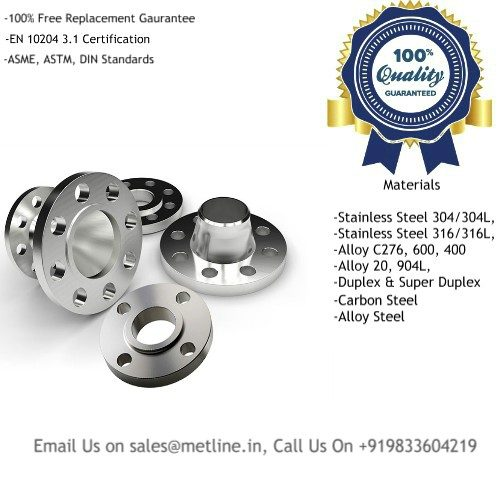 Titanium Flanges Manufacturers, Suppliers, Factory