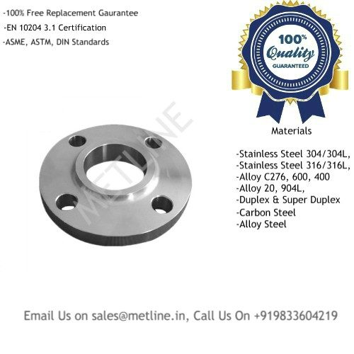 Titanium Slip On Flanges Manufacturers, Suppliers, Factory