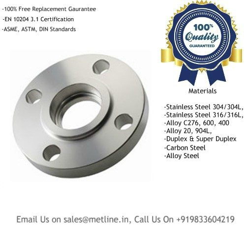 Titanium Socket Weld Flanges Manufacturers, Suppliers, Factory