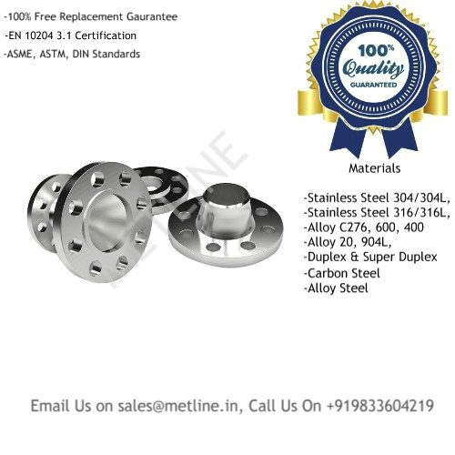 Titanium Weld Neck Flanges Manufacturers, Suppliers, Factory