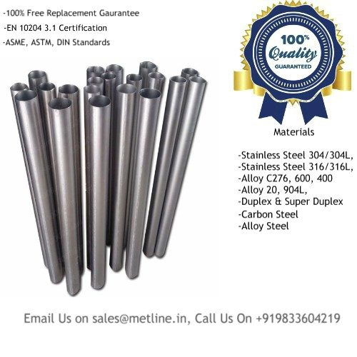 Titanium Welded Pipes Manufacturers, Suppliers, Factory