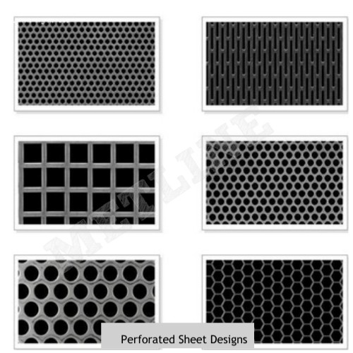 Perforated Steel Sheets Manufacturers, Exporters, Suppliers