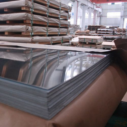 BA Mirror No. 6 Finish Stainless Steel Sheets