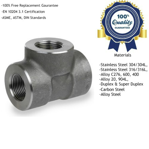 Forged Threaded Tee Manufacturers, Suppliers, Exporters